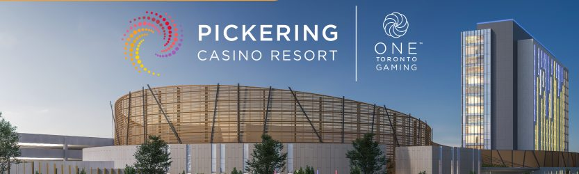 Pickering Casino Resort Announced as Name of New Gaming Property Currently Under Development in the Eastern GTA