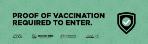 Proof of full vaccination & photo ID required to enter